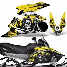 Yamaha APEX Decal Wrap Graphic Kit XTX Part Sled Snowmobile 2006-2011 REAP YLLW