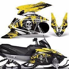Yamaha APEX Decal Wrap Graphic Kit XTX Part Sled Snowmobile 2006-2011 REAP YLLW