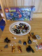 LEGO Teenage Mutant Ninja Turtles (79120) T-Rawket Sky Strike INCOMPLETE