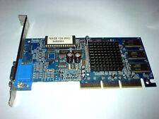 ATI Rage 128 Pro AGP 4-fach Grafikkarte 32 MB TOP
