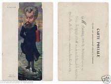 M.PELLETAN. député .politique. policy.    signé Moloch.    caricature.