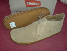 CLARKS ORIGINAL MEN ** DESERT RAIN BOOTS ** SAND SUEDE **  UK 12 / true 12.5