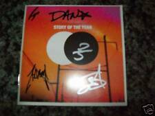 Story of the Year - the Constant signed cd autographed by band members