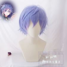 Japanese Anime VOCALOID KAITO Party Cosplay Wig Short Hair Wigs + Wig Cap