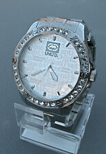 """NEW MARC ECKO MEN'S """"The Wire"""" Stainless Steel Watch E12531G2"""