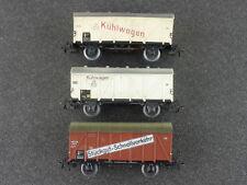 Schnäppchen! Märklin Konvolut 3x Güterwagen Kühlwagen älter 1604-24-45