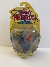 2001 Mattel-Nickelodeon'S Jimmy Neutron-Ride On Skycycle Goddard Figure (New)