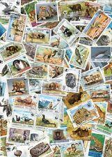 FINE COLLECTION OF100 DIFFERENT WORLD WILDLIFE FUND - WWF  - WILD ANIMAL STAMPS!