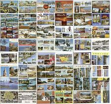 48 CARTES POSTALES FRANCE MULTI VUES 1960-1970