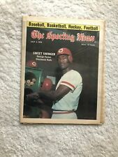 Sporting News George Foster Cincinnati 1976 Billy Martin New York Yankees