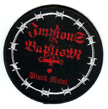 Impious Baptism Black Metal Patch Patch Nocturnal Graves Destruktor Ignivomous