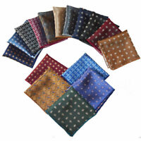 Fashion Men's Handkerchief Wedding Party Printed Hanky Suit Pocket Square Towel
