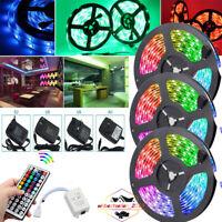 10M 15M 3528 LED RGB SMD Strip Light Remote String Light for TV Room Party Disco