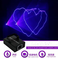Single Blue animatation Laser Stage Light Lighting For DJ Club Xmas part light