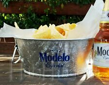 Modelo Beer Chip Bucket -Free Expedited Shipping