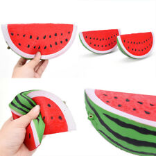 18 cm   Jumbo Wassermelone Obst Duft Brot Squeeze Spielzeug Dekor FL