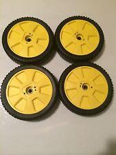 JD 4 Pack New Wheels Tires 12SB 12BP 14SB 14SE 14PZ JA65 JX75 AM115138 72-115