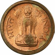 [#726431] Coin, INDIA-REPUBLIC, Naya Paisa, 1957, VF, Bronze, KM:8