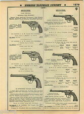 1935 ADVERT Colt Revolvers Camp Perry Model Bankers' Special Detective Police