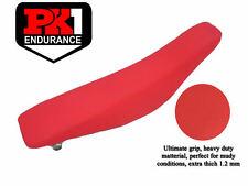 PK1 SEAT COVER HONDA CRF 250 YEAR 04-09/CRFX YEAR 04-16/CRFX 450 YEAR 05-08 RED