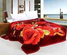 Heavy Thick Plush Velvet Korean Style Mink Blanket by JML, Two Ply Reversible Bl