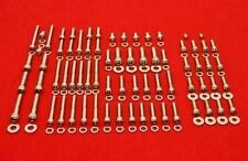 HONDA 1996-2004 XR400 XR400R POLISHED STAINLESS ENGINE ALLEN BOLT KIT