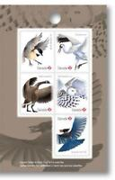 2018 Canada 📭🐦🦉🦅 BIRDS Series  🦢 RIGHT PANE Booklet Singles 🐦🦅🦉📬 MNH