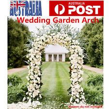 Garden Arch Wedding Arch Garden Climbing Frame Arches Wrought Iron 230cm