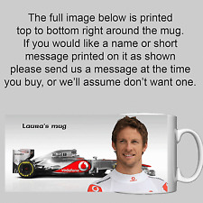 Jenson Button  - Personalised Mug / Cup