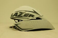 NEW LAZER TARDIZ Aero Time Trial Helmet - White - Medium (52-58cm)