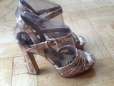Sam Edelman New & Gen. Ladies Leather High Heeled Sandals UK 3.5, EU 36.5, US 6M