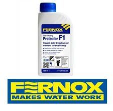 NEW FERNOX CENTRAL HEATING PROTECTOR F1 500ml 56599 Brand New