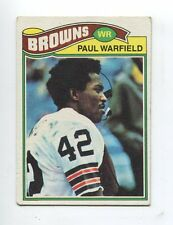 1977 Topps #185 Paul Warfield Cleveland Browns