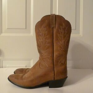 Ariat Western 10001021 Brown Leather Boots sz Womens 8B