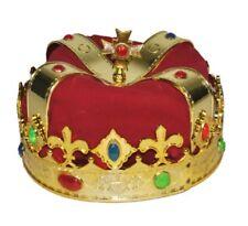 Corona da re lusso travestimento in plastica