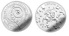 LITHUANIA 1.50 EURO 2018 JONINES RASOS ST. JOHNS EVE UNCIRCULATED CU - NI COIN