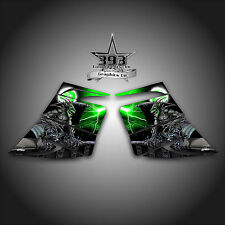 SKI-DOO REV MXZ SNOWMOBILE WRAP GRAPHIC SIDE PANEL DECAL 03-07 GUARDIAN GREEN