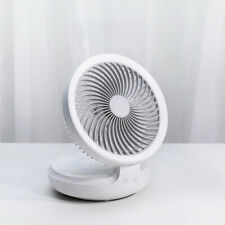 USB charging,can be used offline,suspended folding fan,WHITE