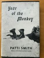 Signiert!  Patti  Smith Year of the Monkey.  Signed!