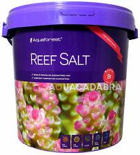 AQUAFOREST REEF SALT 22kg CONSTANT COMPOSITION CORAL MARINE AQUARIUM FISH TANK