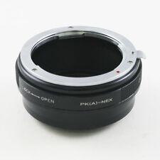 Pentax K PK DA AF Objektivadapter für Sony NEX E mount adapter A7 A6000 A7R A7S