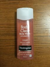 Neutrogena Body Clear Body Wash Pink Grapefruit 8.5oz New Unused Free Ship