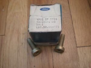 NOS 1969 1970 Ford Mustang Seat Belt Bolts 382624-S100