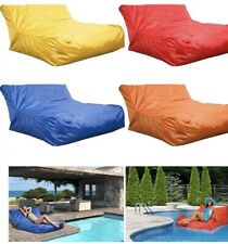 Waterproof Fabric Floating Chair - Bean Bag Pool Water Lake Patio - Zip Cover