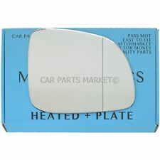 Right Side Wide Angle Wing mirror glass for Ssangyong Korando 10-17 heated plate