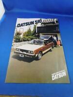 DATSUN 510 CAR DEALERSHIP ADVERTISING BROCHURE SPECIFICATIONS NISSAN CANADA