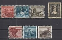 AX5541/ LIECHTENSTEIN – 1946 / 1947 USED SEMI MODERN LOT – CV 115 $