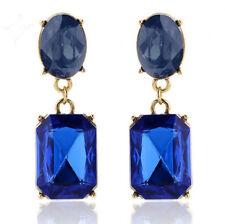 Elegant Rhinestone Crystal Drop Dangle Ear Stud Earrings Women Fashion Jewelry