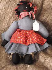 Mammy Doll - Folk Art Cloth Doll 13 Inches