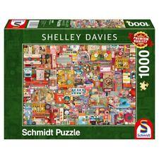 SCHMIDT SPIELE PUZZLE SHELLEY DAVIES VINTAGE HANDARBEITSZEUG 1000 TEILE